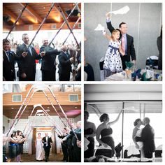 Entrance to our hockey themed wedding #hockey #wedding #canucks