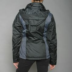 @Overstock.com - Endure the elements in style with this two-tone tech jacket from First Down. This wind and water-resistant jacket features a fixed hood and two front hand-warmer zipper pockets. http://www.overstock.com/Sports-Toys/First-Down-Womens-Black-Two-tone-Hooded-Tech-Jacket/6335592/product.html?CID=214117 $38.99