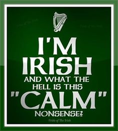 Wow this is me!! My darn Irish roots giving me my short temper ;)
