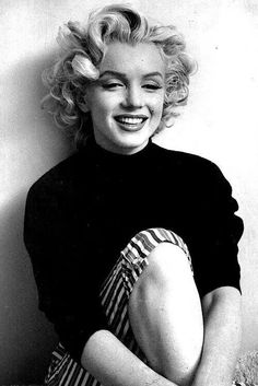 """Marilyn Monroe - June 1, 1926 to August 5, 1962 - """"acute barbiturate poisoning,"""" leading to speculation that it could have been a suicide."""