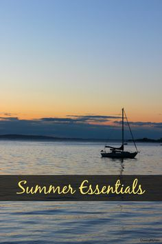 Summer is here and so is my list of must-haves to get you through the season!