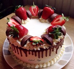 Cake Recipes, Dessert Recipes, Cake Writing, Best Chocolate Cake, Holiday Cakes, Drip Cakes, Occasion Cakes, Pretty Cakes, Creative Cakes