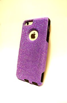 Custom iPhone 6 4.7 inch Glitter Otterbox Commuter от NaughtyWoman