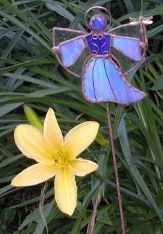 Garden angel @ glassngarden