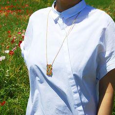 #enamel #necklace by #joidart