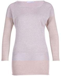 Eleganter Pullover der italienischen Designerin Fabiana Filippi. www.REYERlooks.com