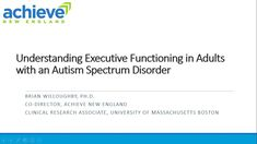 Understanding Executive Functioning in Adults with Autism Spectrum Disor. Aspergers, Asd, University Of Massachusetts, Executive Functioning, Clinical Research, Autism Spectrum Disorder, Problem Solving, Disorders, Education