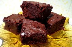 Alton Brown's Cocoa Brownies. These are my absolute favorite brownie recipe!! I make them every christmas