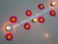 59 Ideas Cupcakes Simple Decoration Ideas For 2019 Simple Rangoli Border Designs, Indian Rangoli Designs, Rangoli Designs Latest, Rangoli Borders, Small Rangoli Design, Rangoli Patterns, Colorful Rangoli Designs, Rangoli Ideas, Beautiful Rangoli Designs