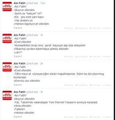 Alo Fatih! Pressure on the press in Turkey!