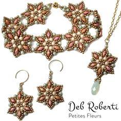 Petites Fleurs pattern by Deb Roberti