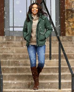 Winter Fashion of Gabrielle Union.
