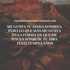 ▷Frases de cumpleaños para mi NOVIO - FrasesCumpleaños Birthday Gifts For Brother, Birthday Quotes For Daughter, Happy Birthday Friend, 80th Birthday, Change Quotes Funny, Happy Quotes Inspirational, Motivational Quotes, Red Lipstick Quotes, Hot Chocolate Gifts