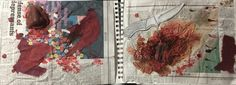 """Visual Journals #10 - Draw/Paint - """"SCARE"""" - NGHS Room 406"""