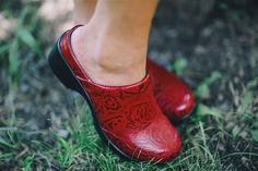Alegria Shoes Isabelle in 'Yeehaw Red' from Alegria Shoe Shop - now on Closeout