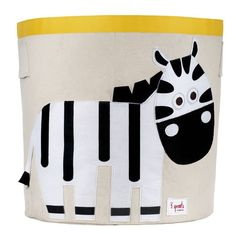 Toy storage bin with an applique felt Zebra. We stock a cute and modern range of toy storage boxes for the Nusery or playroom. This delightful Zebra storage bin should help encourage your little one to help tidy up ! Kids Storage Bins, Baby Toy Storage, Toy Bins, Nursery Storage, Storage Boxes, Storage Baskets, Clothes Storage, Easy Storage, Storage Containers