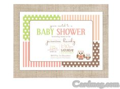 Baby Shower Invitations, Top 10 Card Design Namecard Design ...
