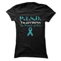 PTSD AWARENESS T-Shirts, Hoodies. VIEW DETAIL ==► Funny Tee Shirts