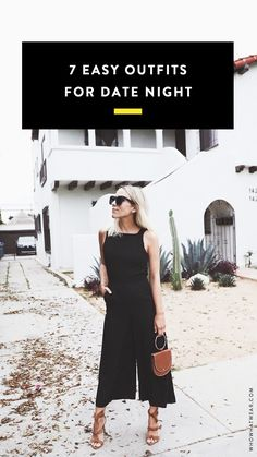 Super easy outfit ideas perfect for a date night