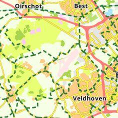 Fietsroute (E-bike) Vincent van Gogh Vincent Van Gogh, Diagram, Map, World, Travel, Bike, Bicycle, Viajes, Location Map