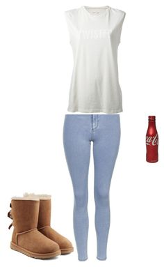 """""""Twister"""" by shorty6112 on Polyvore featuring Topshop, UGG Australia and 6397"""