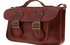 Fly London accessories fly london red annie satchel bags Love vintage-inspired accessories? Us too, thats why weve brought you the Annie Satchel from Fly London. This red leather bag contains all the classic satchel features