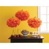Martha Stewart Crafts™ | Carnival Pumpkin Pom Poms