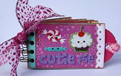 "Momenta Design Team Project - ""Cutie Pie"" Toilet Paper Roll Mini Album  Faith Abigail Designs"