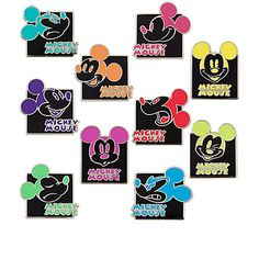 Mickey Mouse Mystery Pin Set | Pins (Individual) | Disney Store