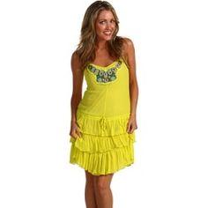 Free People - Shining Sun Dress (Yellow Combo) - Apparel, $59.99 | www.findbuy.co