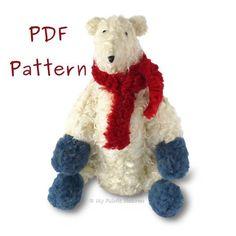 "Glacé 12"" #Polar #Bear PDF Soft #Toy Sewing #Pattern #myfabricheaven #sewing #handmade #flockbn #KPRS #SNRTG #eshopsuk #BTRTG #sewingaddict #sewinglove #sewersoftwitter #handmadewithlove #isew #design #sewsewsew #sewistsoftwitter #sewingforkids #makersgonnamake"