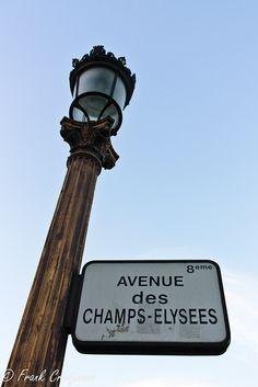 Avenue de Champs Élysées ... Gotta love a walk and some shopping on the Champs Élysées. Some of the worlds best ....❤