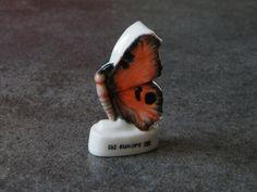 Fève de collection en céramique - Le papillon d'europe : Cuisine créative par jl-bijoux-creation