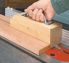 14 Push Block Plans + 11 Push Stick Plans: Save Your Paws from Table Saws! |:
