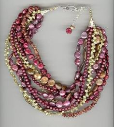 Mixed pearls by lorrie