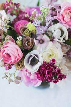 Can a summer wedding bouquet get any better?! Loving the refreshing and feminine colour palette of pink, lavender and mauve flowers featuing our favorites ranunculus, anemones and peonies plus some sweet william from our cutting garden! #calgaryweddings #calgaryweddingflorist #weddingbouquet #summerweddings #summerweddingflowers #mauveflowers #pinkflowers #calgary #calgaryflorist #ranunculus #anemone #bestweddingflowers #peonybouquets Summer Wedding Bouquets, Floral Wedding, Wedding Flowers, Bridal Bouquets, Peonies Bouquet, Ranunculus, Anemones, Peonies Season, Growing Peonies