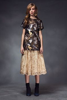 A fabulous top with a fluffy skirt - by Ida Sjostedt