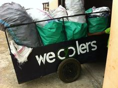 In Lagos, a city in Nigeria, #Wecyclers social enterprise is stimulating poor people to recycle their household waste by offering them redeemable points via SMS. With these points people can obtain basic goods like food items, soap, cell phone credit, or even electronics. http://impressivemagazine.com/2014/04/03/wecyclers-helps-poor-people-to-capture-value-from-their-waste/