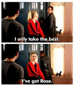 In the Doctor's own words.  She was the best.