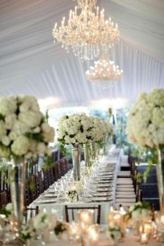 Gorgeous reception. Kayla this is SO pretty!