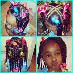 Can't wait for these hairdos on my little girls...
