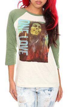 89e75d69d1b Bob Marley One Love Girls Raglan Was   24.50 Now   10.14
