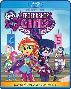 My Little Pony: Equestria Girls - Friendship Games - Blu-ray/DVD | Shout! Factory