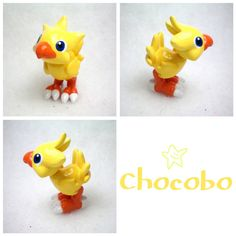 Clay Chocobo from Final Fantasy 7