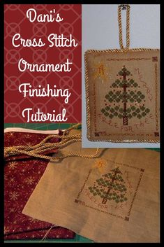573 Best Stitched Ornament Finishing Ideas Images In 2019
