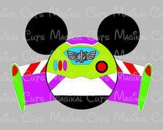 Buzz Mouse Ears SVG, Studio, EPS, and JPEG Digital Downloads – Magikal Cuts