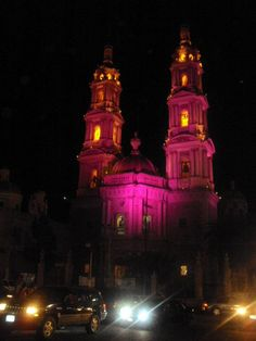 Iglesia de Noche, Tepatitlan de Morelos, México