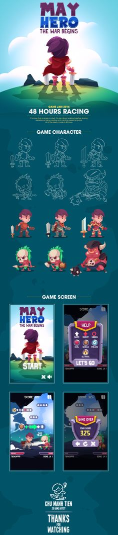 Game Art - May Hero on Behance