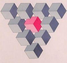 "Oscar Rutersvärd, las ""imposibles"" figuras geométricas."