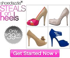 Great Steals on Heels at ShoeDazzle  http://womenfreebies.ca/shopping/get-your-style-personalized/
